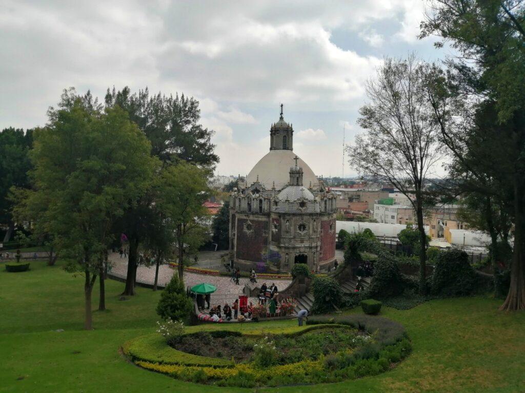 Recorrido por la Basilica en Mexico
