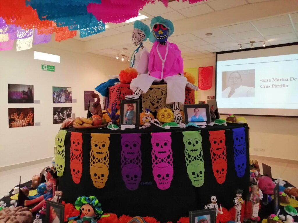 Altar dia de muertos embajada de Mexico