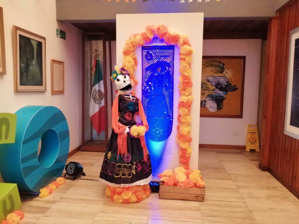 Catrina, embajada de Mexico